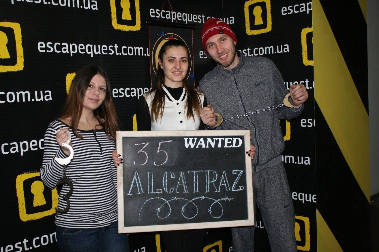 Побег из Алькатраса