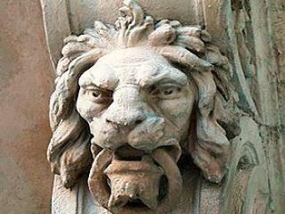 Приключения каменных львов